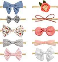 personalized baby hair bows