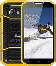 EL W8 4G LTE Rugged Smartphone Unlocked IP68 Wateproof Dustproof Shockproof 5.5 Inch 16GB/2GB Android 6.0 Camera 8.0MP (Yellow)