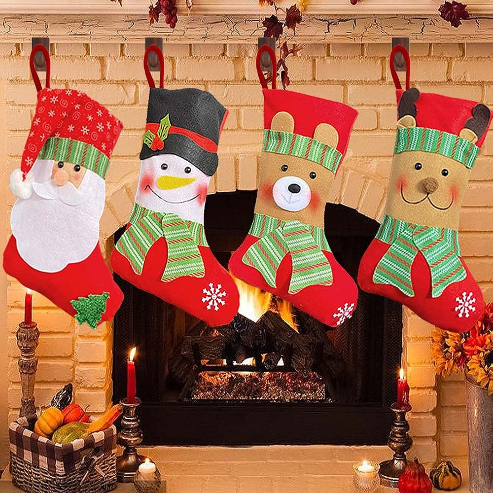 Direct Selling rankings sale of manufacturer Christmas Stockings 15 Inch Large Stocking Decorations