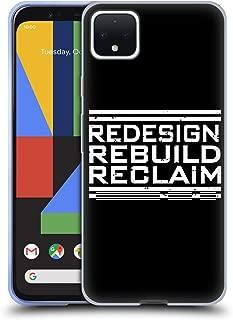 Official WWE Redesign, Rebuild, Reclaim Seth Rollins Soft Gel Case Compatible for Google Pixel 4 XL