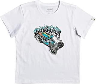 Quiksilver Muscle Car Boys Short Sleeve T-Shirt