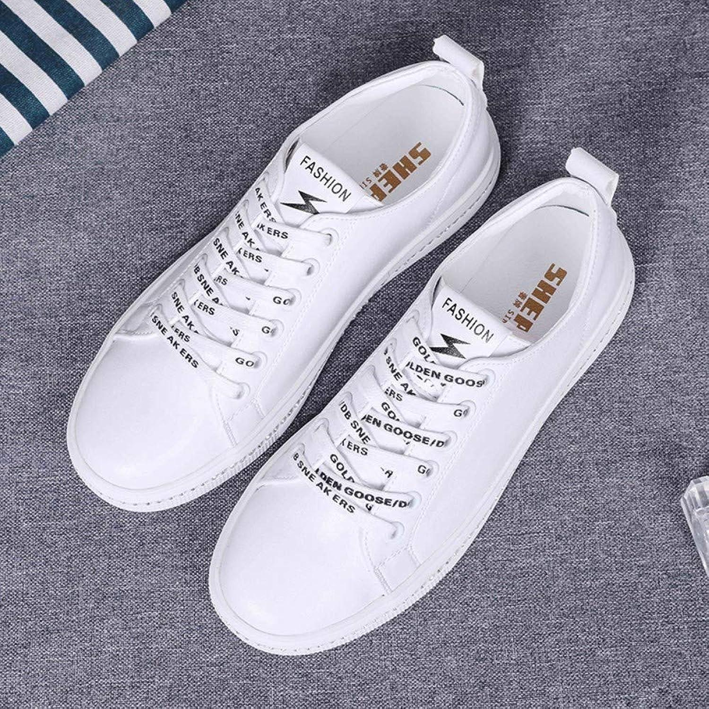 ZHIJINLI Små vita skor, skor, skor, enstaka skor, skor, studenter, platta skor, tillfälliga, vilda, 7 - storLEK  low-key lyxkonflikt