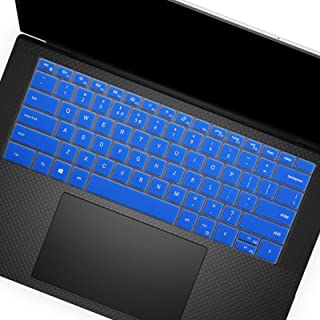 """Keyboard Cover for 2020 New Dell XPS 15 9500 15.6"""" /New XPS 17 9700 17"""" Layout US Layout Keyboard Cover Protective Skin, D..."""
