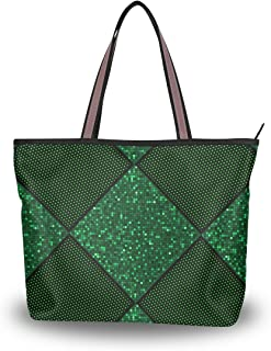 DEYYA Women Large Tote Bag Retro Avatar Shoulder Handbags Satchel Messenger Bags for Ladies