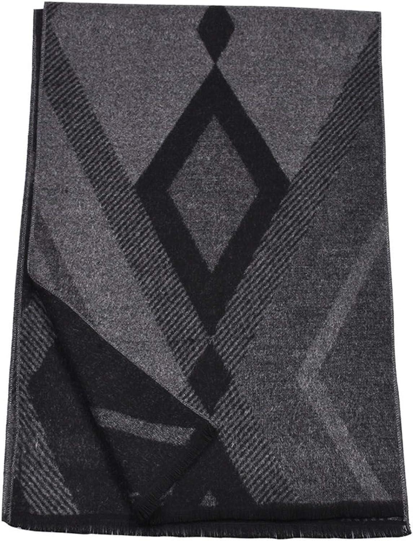 Popular standard Autumn and winter Ranking TOP20 imitation cashmere s scarf men's warm