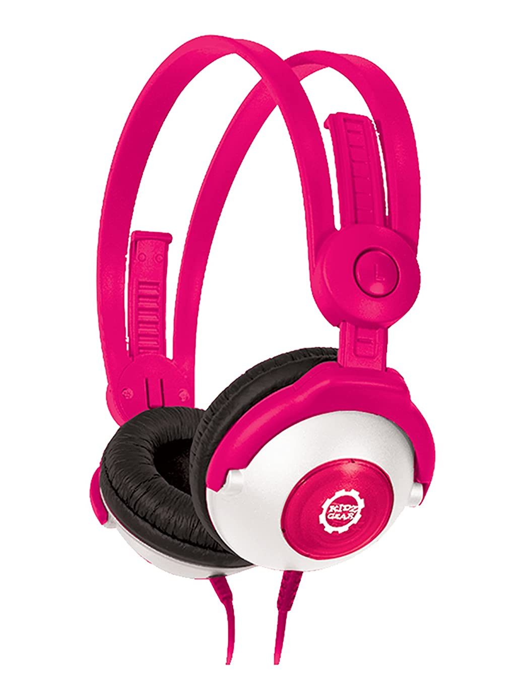 Kidz Gear Wired Headphones for Kids – Pink