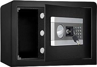 0.8cub Safe Security Box, Fireproof and Waterproof Safe Cabinet, Digital Combination Lock Safe, fireproof lock box with Ke...