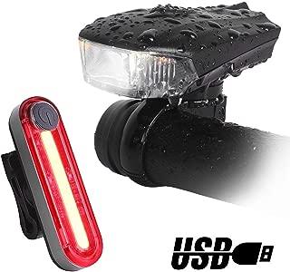 Unigear Luces Bicicleta Sensor Inteligente Luz Delantera y