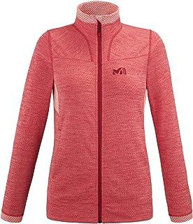 MILLET LD Lokka Jkt Fleece Jacket, Womens, Tango, XL
