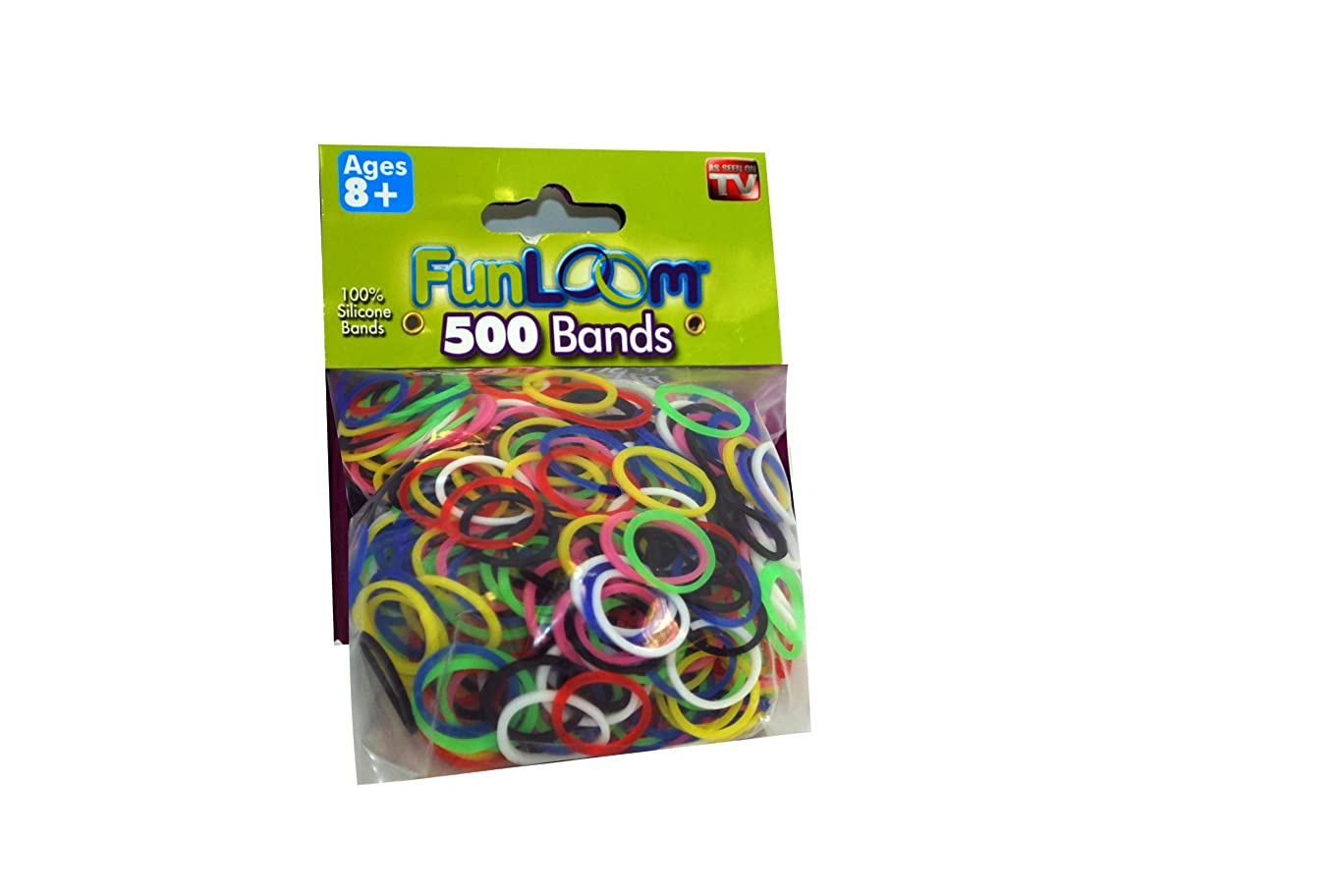FunLoom B00GWSUEDW Original Refill Bands 500Pk, Multicolor m70073053