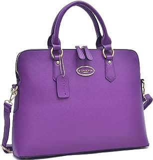 Women's Faux Leather Purses and Handbags Shoulder Bags Satchel Top Handle Bags Work Bag