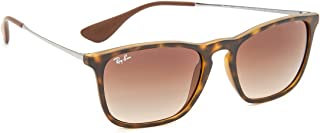 Women's RB4175 Oversized Clubmaster Sunglasses