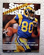 Isaac Bruce - St Louis Rams - NFL Playoffs - Sports Illustrated - January 24, 2000 - SI