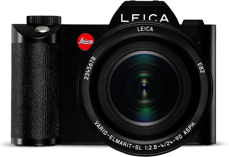 Leica SL + 24-90mm Juego de cámara SLR 24 MP CMOS 6000 x 4000 Pixeles Negro - Cámara Digital (24 MP 6000 x 4000 Pixeles CMOS 4K Ultra HD Pantalla táctil Negro)