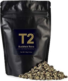T2 Tea Buddhas Tears Green Tea, Loose Leaf Green Tea in Resealable Foil Refill Bag, 100 g