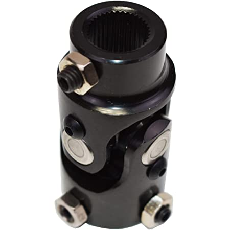 NEW SOUTHWEST SPEED STEERING U-JOINT 9//16-26 SPLINE TO 3//4 DOUBLE D HIGH STRENGTH BLACK OXIDE UNIVERSAL JOINT WITH NEEDLE BEARINGS 30 DEGREES OF USE ON STEERING SHAFT COLUMN BOX RACK