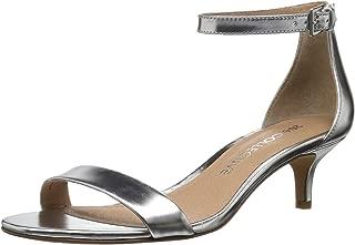 206 Collective Amazon Brand Women's Eve Stiletto Heel Dress Sandal-Low Heeled