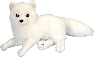 Wild Republic Arctic Fox Plush, Stuffed Animal, Plush Toy, Gifts for Kids, Cuddlekins 8 Inches