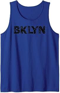 Brooklyn NYC T-Shirt BKLYN slang shirt Cool Grunge Brooklyn Tank Top