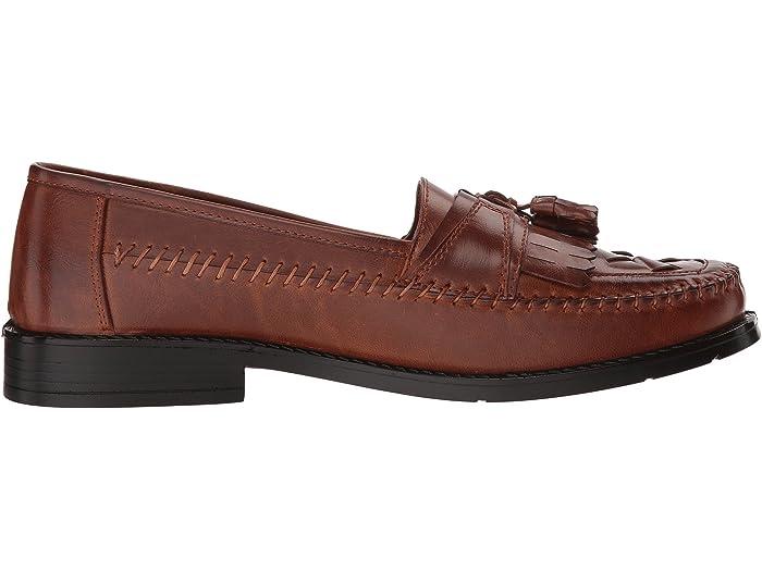 Deer Stags Herman Tassel Loafer Cognac Simuled Leher Loafers