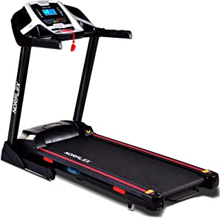 Electrical Running Machine with 22 KPH Speed Range & 150 kg Capacity – Portable Treadmill Desk 15 Incline – Apartment Treadmill with Phone Stand