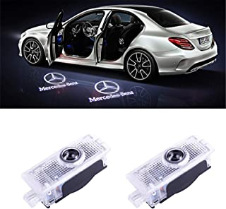 AutoPart for Mercedes-Benz Cls Cla Clk Led Logo Projector Shadow Door Lights -2pcs