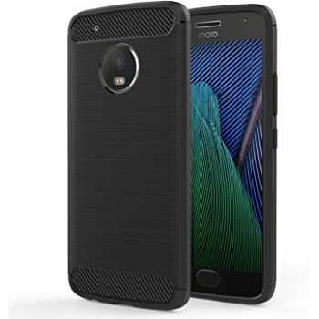 Hybrid Shock Absorption Scratch Resistant TPU Grip Skin Silicone Full-body Protective Cover Shell for Moto G5 blue Slim Thin Moto G5 Armor Kickstand Case,Ultra