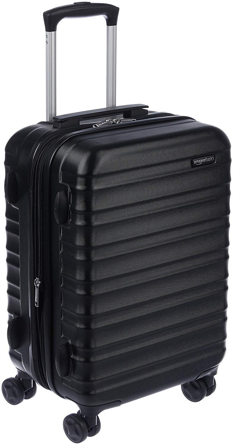 AmazonBasics Hardside Spinner Luggage 20 Inch