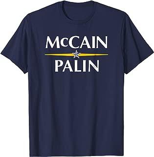 McCain Palin 2008 Presidential Campaign Throwback T Shirt