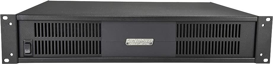 SpeakerPower SP2-12000DS Torpedo 12000 Watt Power Amplifier, 2 x 6000 Watt Channels, Rack Mount