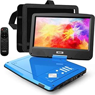 """SUNPIN 12.5"""" Portable DVD Player for Car and Kids with Headrest Mount, 10.1"""" HD Screen, 5 Hours Rechargeable Battery, Remo..."""
