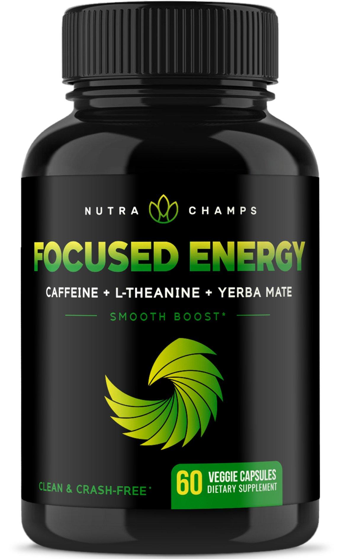 Caffeine L Theanine Energy Focus Performance