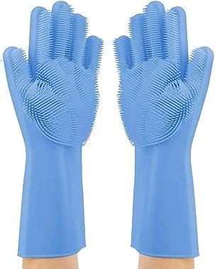 Alciono Magic Silicone Dishwashing Cleaning Gloves