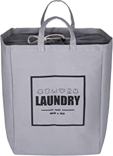 LvLoFit Stand Up Laundry Basket with Drawstring Closure,53L,Collapsible and Waterproof Laundry Bags with Handles,Toy Basket Storage,Perfect for Household Storage