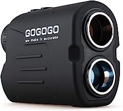 Gogogo Sport Lazer Rangefinder / Gfogo Sport Rangefinder، 6X بزرگنمایی 650/900 یارد لیزر دامنه یاب ، اسکن دقیق برد دامنه ، تصحیح فاصله شیب ، پین جستجوگر و پرچم قفل ، مسابقات قانونی گلف ردیف