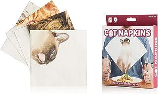 SUCK UK Cat Napkins サックユーケー 紙ナプキン キッチン雑貨 猫雑貨 猫ナプキン