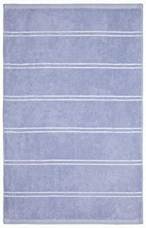Calvin Klein Home Eileen Bath Collection, Hand Towel, Periwinkle/White