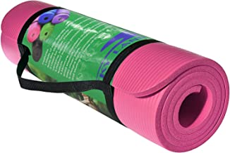 Skyland Yoga Mat, Pink- 10mm Thick