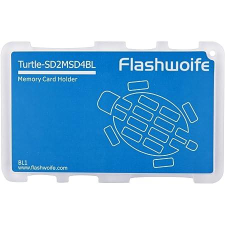 Flashwoife Turtle Sd2msd4bl Speicherkartenetui Für 2x Computer Zubehör