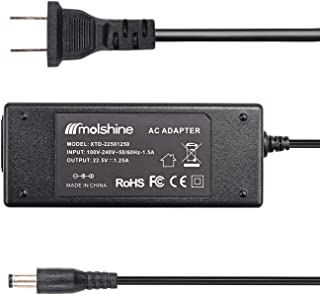 Molshine Compatible (8.8ft Cable) 22.5V 1.25A Fast Battery Charger Adapter for Irobot Roomba 400 500 600 700 800 880 Series 770 650 Pets 415 510 530 540 550 560 570 630 660 760 780 4000 4100 4150 4230