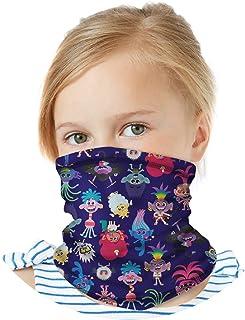 Sponsored Ad - Dreamworks Girls Trolls Gaiter Face Mask with UV Sun Protection