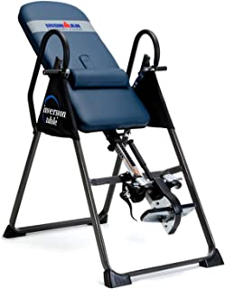 Innova ITX9600 Heavy Duty Deluxe Inversion Therapy Table- Comes with 2 foam rollers and 2 PU cup holder- Fitness and Therapeutic Uses: Relieve pain and stiffness*