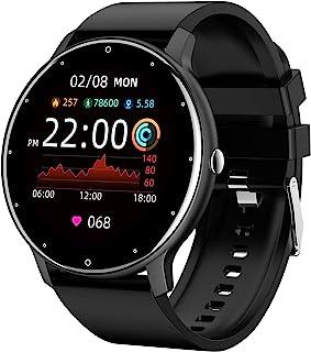 "LIGE Smart Watch for Men Women, 1.28"" Touch Screen IP67 Waterproof Fitness Tracker Watches with Message Notifications Hear..."