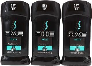 AXE Antiperspirant Deodorant Stick for Men Apollo 2.7 oz (Pack of 3)