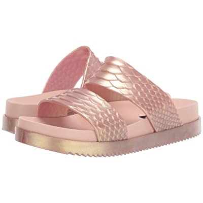 Melissa Shoes Cosmic Python + Baja East (Rose Gold) Women