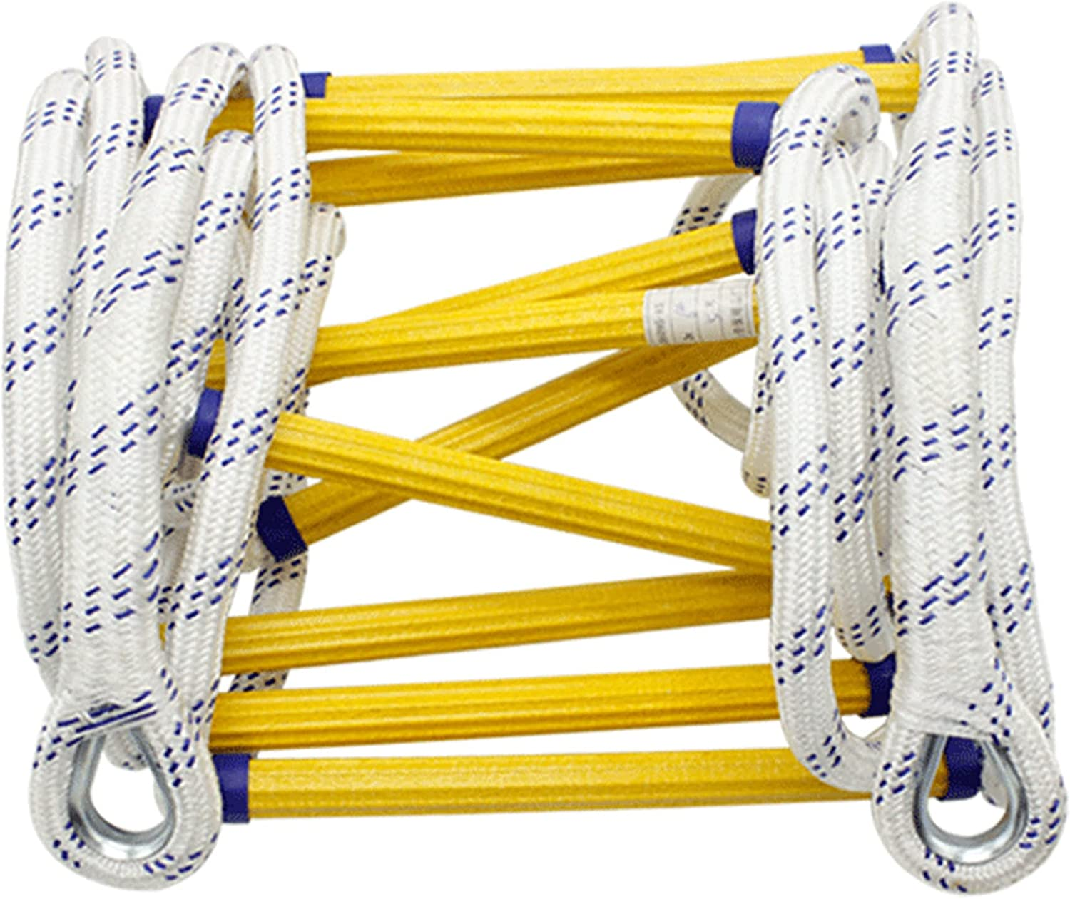 LINGOSHUN Popular shop is the lowest price challenge Rope Ladders Reusable High-Rise Detroit Mall Fire Ladde Escape
