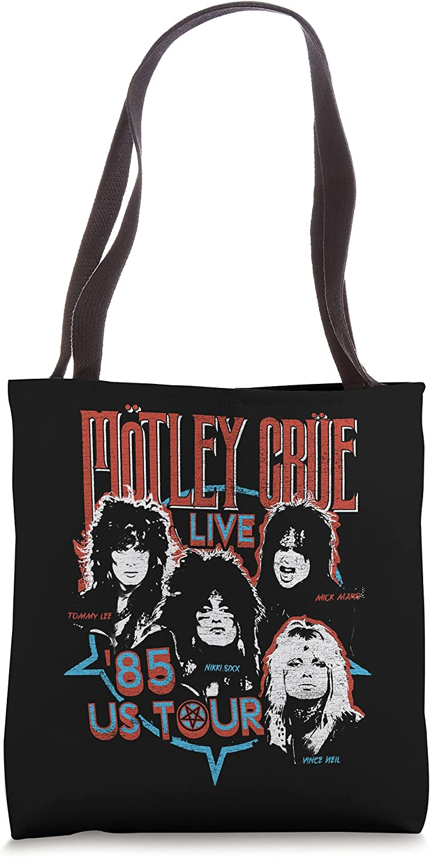Mötley Crüe – '85 US Tour Tote Bag