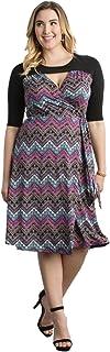 Kiyonna Women's Plus Size Winsome Wrap Dress