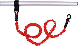 YYST 1 Piece 36 Inch Deluxe Red Kayak Paddle Leash Kayak Rod Leash Tool Lanyard Fishing Leash SUP Paddle Leash SUP Leash