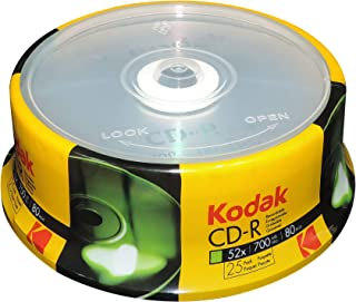 Kodak CD-R Kodak CD-R 700MB 52x Spindle 25 Pack, (510025)